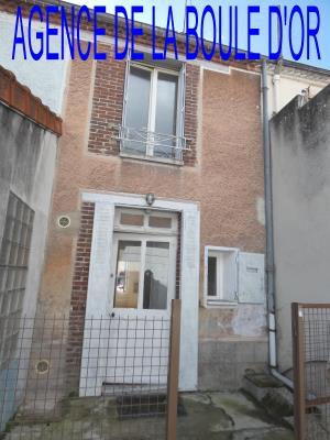 Maison De Ville Mitoyenne En Bon Etat De 51 M²